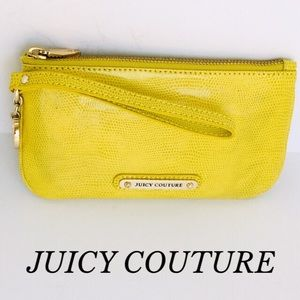 NWOT  LIME GREEN SNAKESKIN JUICY COUTURE WRISTLET